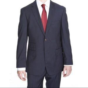 Hugo Boss Rhett 44R Check Button 100% Virgin Wool